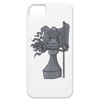 Chess Piece with Sword and Flag Cell Phone Case iPhone 5 Covers