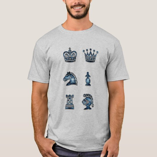 Chess Pieces Check Mate T-shirt