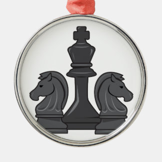 Chess Pieces Christmas Ornament