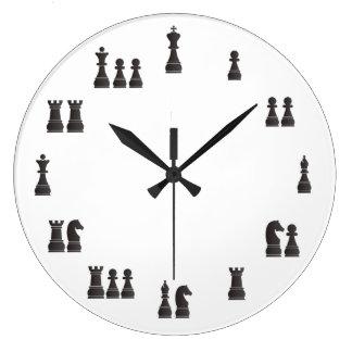 Chess pieces clocks
