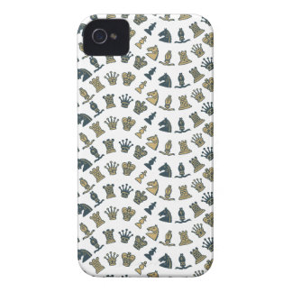 Chess Pieces in Waves Blackberry Bold Case