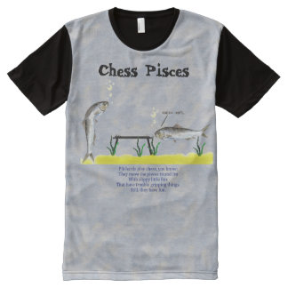 Chess Pisces All-Over Print T-Shirt