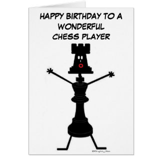 Chess Player Birthday Card