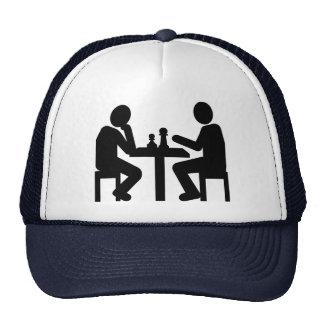 Chess player cap