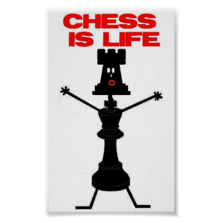 Chess Player For Life Poster