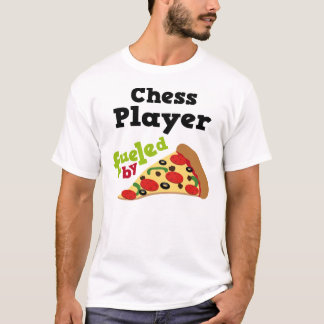 Chess Player (Funny) Pizza T Shirt