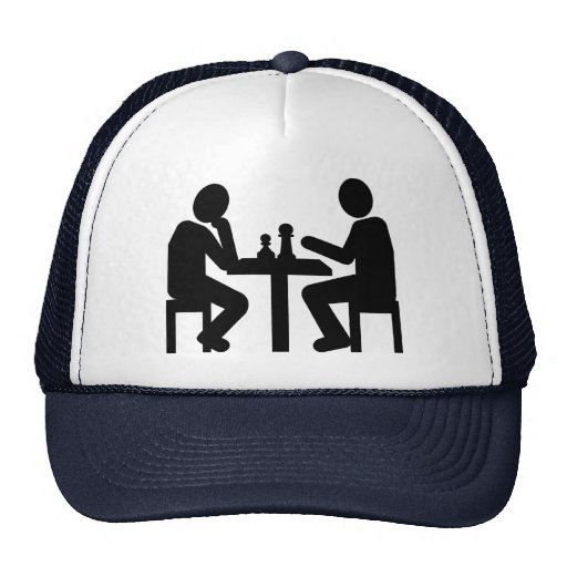 Chess player hats