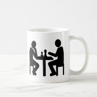Chess player coffee mugs