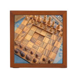 Chess Player's Desk Organiser