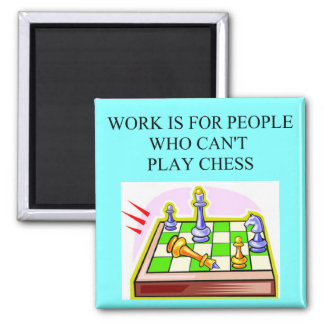 chess players square magnet