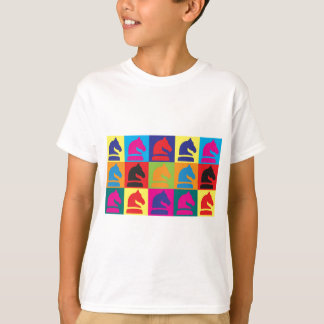 Chess Pop Art T-Shirt