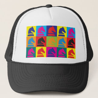 Chess Pop Art Trucker Hat