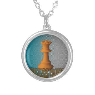 Chess queen custom necklace