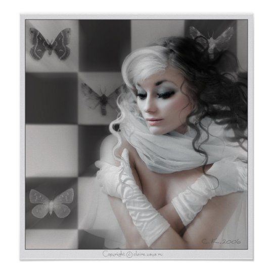 Chess Queen Poster