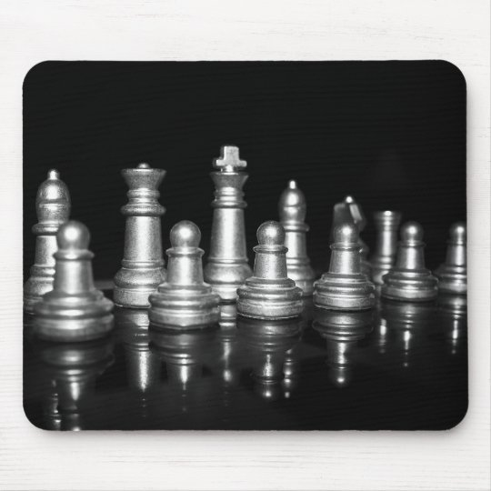 Chess Reflections Mouse Mat