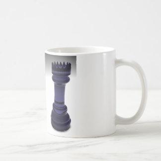 Chess Rook Basic White Mug