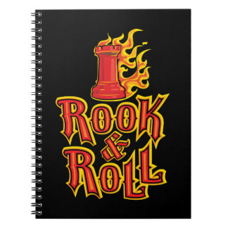 Chess Rook & Roll Note Books