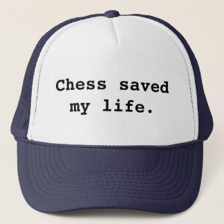Chess saved my life. trucker hat