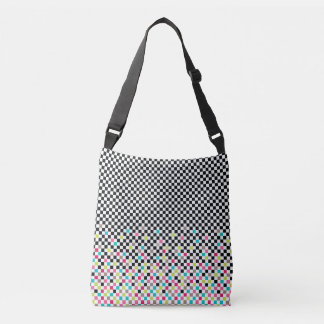 Chess seamless pattern crossbody bag