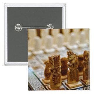 Chess set for sale, Khan el Khalili Bazaar, 15 Cm Square Badge