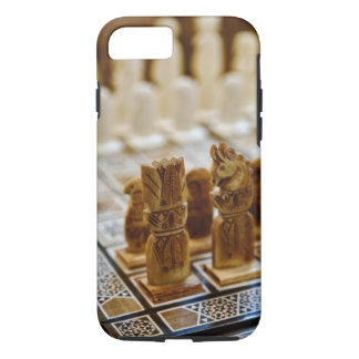 Chess set for sale, Khan el Khalili Bazaar, iPhone 7 Case