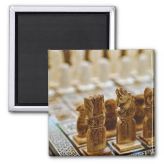 Chess set for sale, Khan el Khalili Bazaar, Fridge Magnet