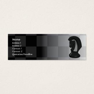 Chess - Skinny Mini Business Card