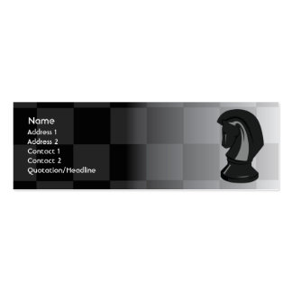 Chess - Skinny Pack Of Skinny Business Cards