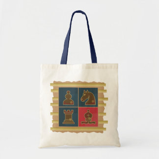 Chess Squares Tote Bag