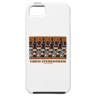Chess Stereogram (Chess Pieces 3-D) iPhone 5/5S Cover