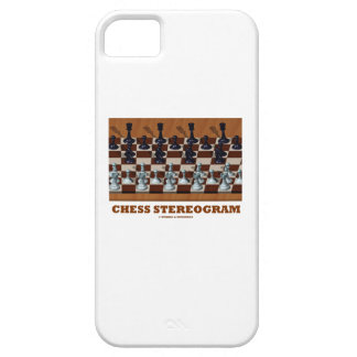 Chess Stereogram (Chess Pieces 3-D) iPhone 5 Cover