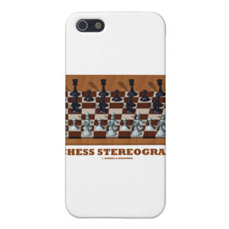 Chess Stereogram Chess Pieces 3-D iPhone 5 Cover