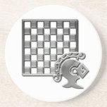Chess Strategy Coaster