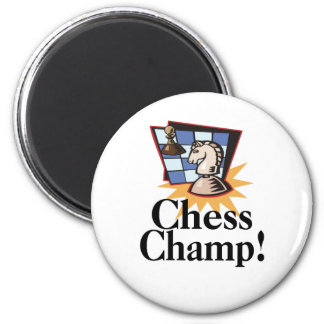 Chess T-shirts and Gifts. Fridge Magnet