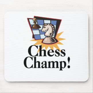 Chess T-shirts and Gifts. Mouse Mat