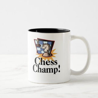 Chess T-shirts and Gifts. Two-Tone Coffee Mug