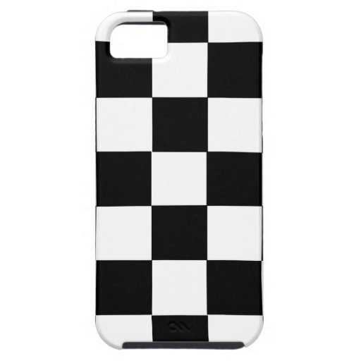 chess table black and white squares case iPhone 5 cover