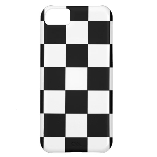 chess table black and white squares case iPhone 5C cover