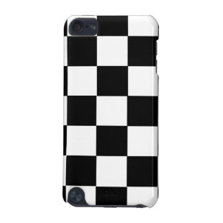 chess table black and white squares iPod touch (5th generation) case