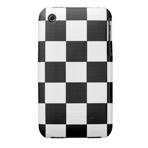 chess table black and white squares case Case-Mate iPhone 3 cases
