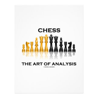 Chess The Art Of Analysis 21.5 Cm X 28 Cm Flyer