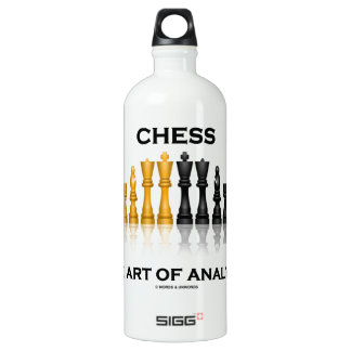 Chess The Art Of Analysis (Reflective Chess Set) SIGG Traveller 1.0L Water Bottle