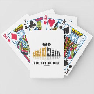 Chess The Art Of War (Gothic Font) Card Deck