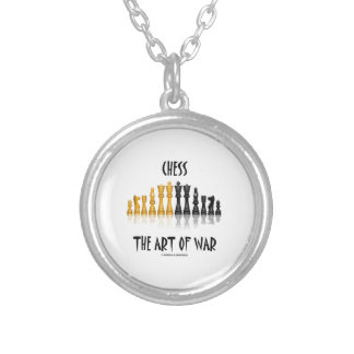 Chess The Art Of War (Matisse Font) Necklaces