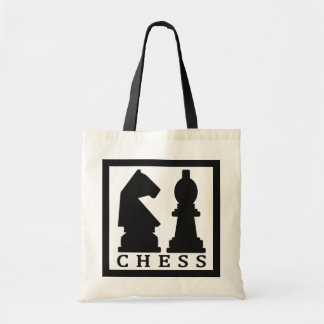 CHESS tote bags