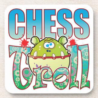 Chess Troll Drink Coaster