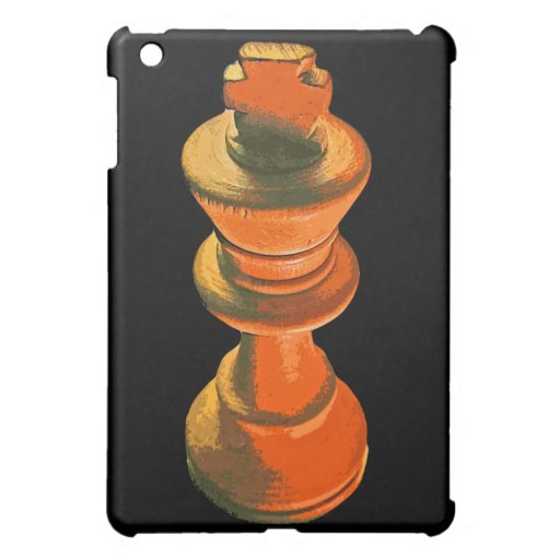 Chess, White King, Stylised (1) Case For The iPad Mini