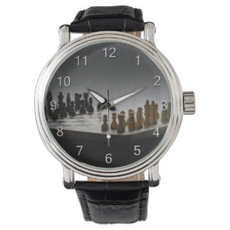 Chess With Numbers Watch
