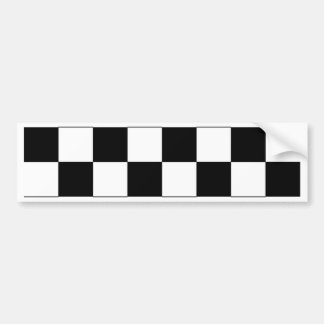 Chessboard Bumper Sticker