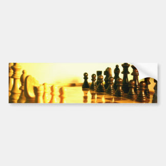 Chessboard Bumper Stickers